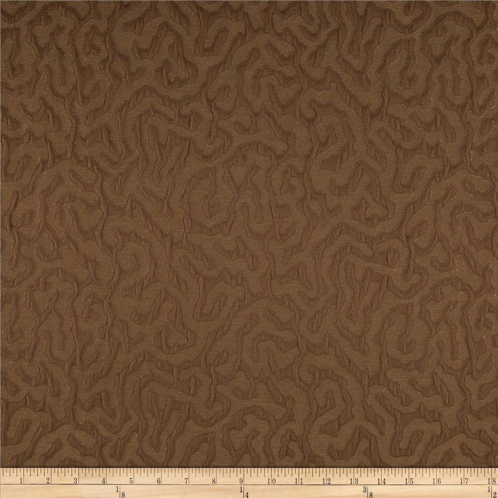 Robert Allen Promo Ethereal Jacquard Chocolate