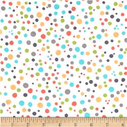 Michael Miller Safari Friends Dabble Dot Aqua