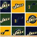 NBA Fleece Utah Jazz Block Gold/Navy