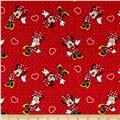 Disney Minnie Traditional Minnie with Hearts Red
