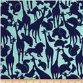Michael Miller Cynthia Rowley Oh Baby Animal Silhouettes Mint