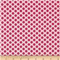 Dear Heart Polka Dot Pink