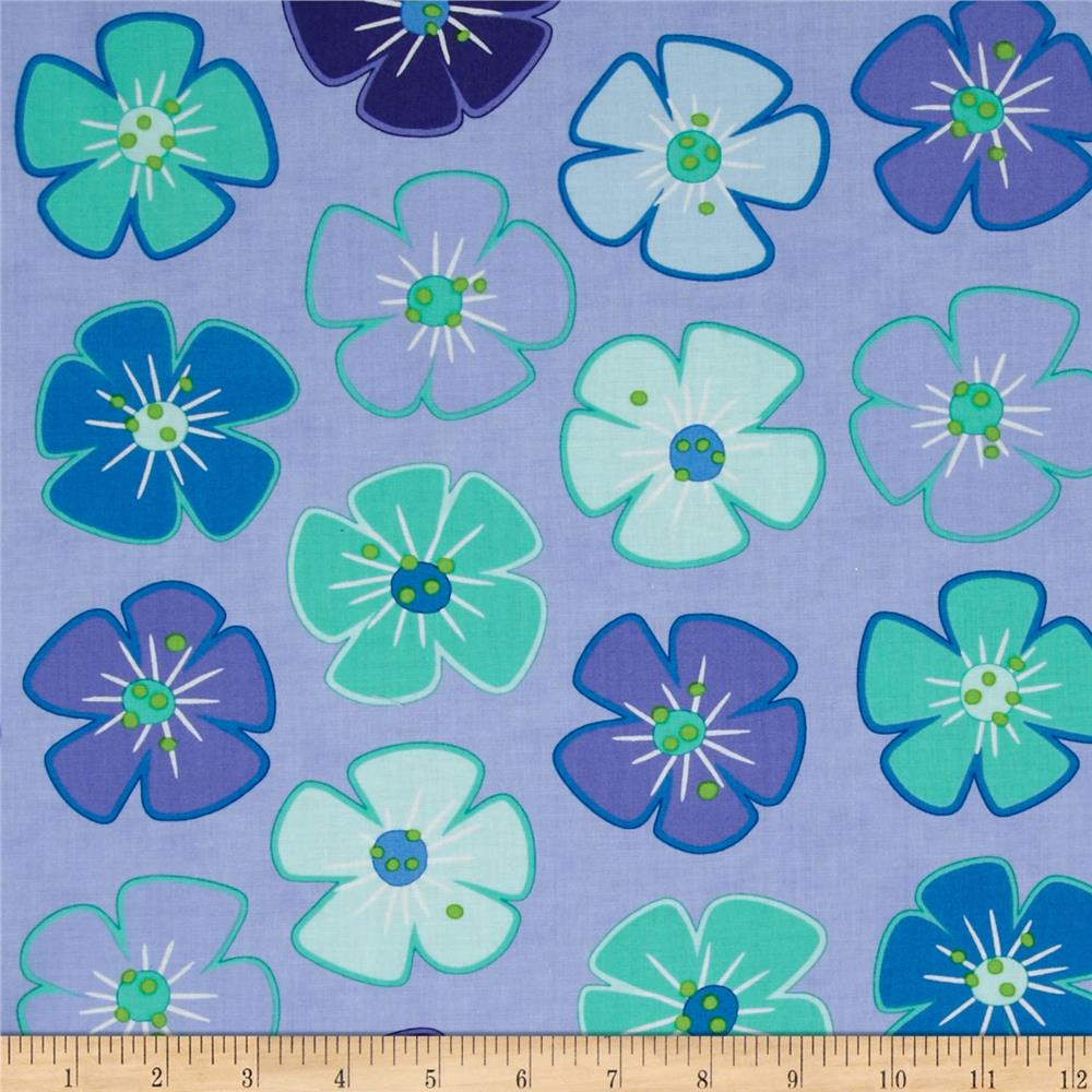 Moda Giggles Flower Giggles Snickering Purple