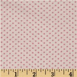 Spring Showers Dots Ivory/Pink