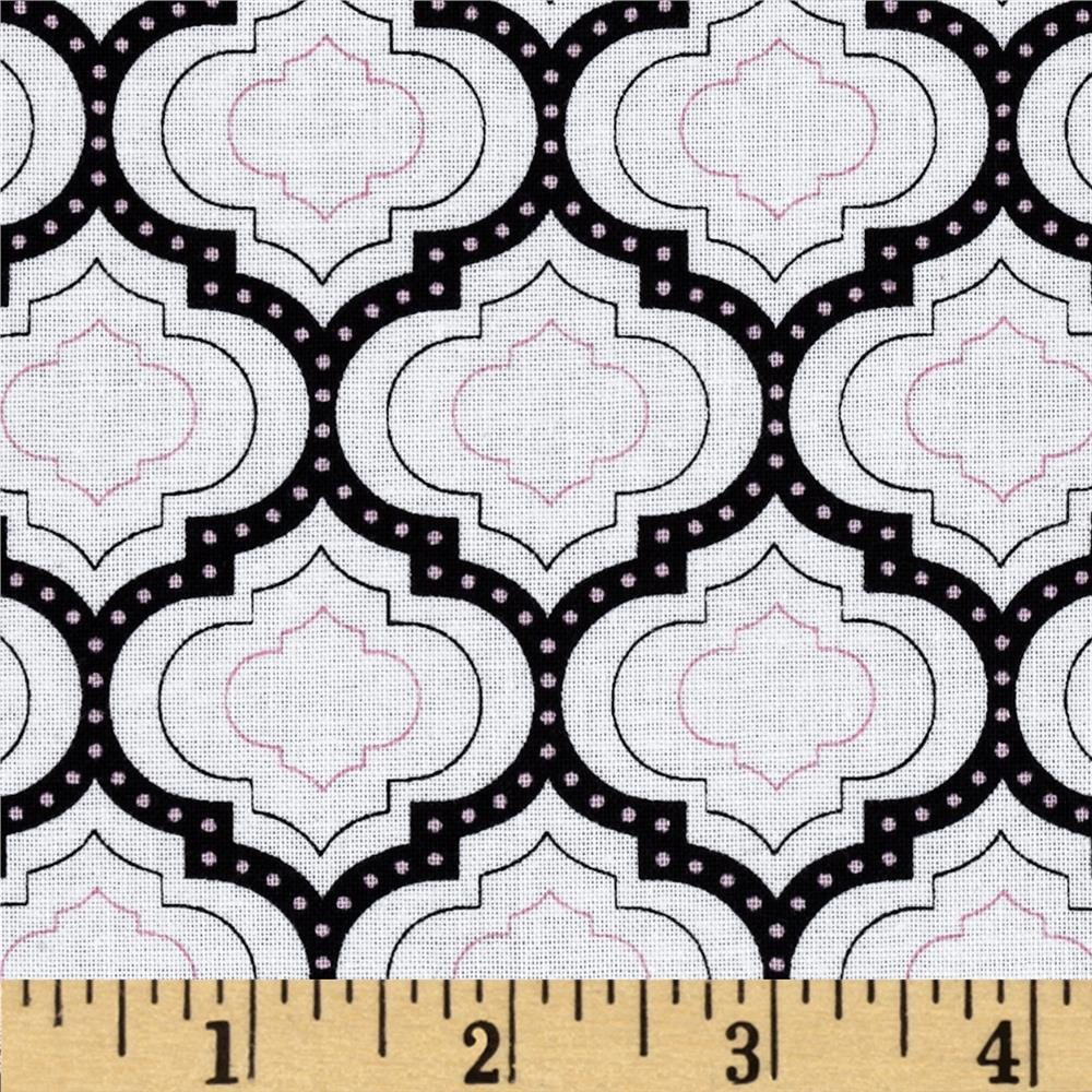Madison Geometric Medallions Pink