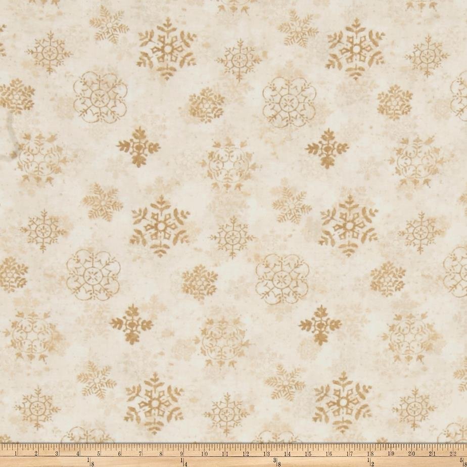 Woodland Holiday Snowflakes Cream