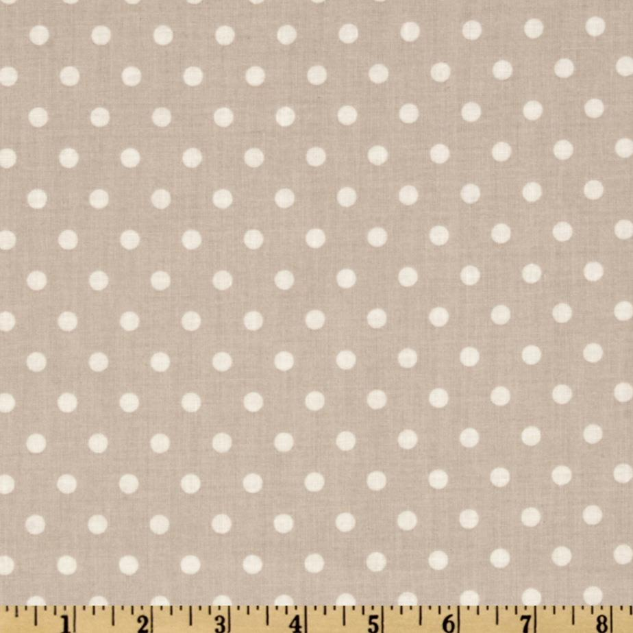 Petal French Dots Taupe
