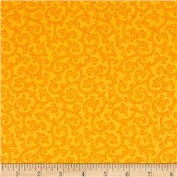 Daisy Mae Joy Mango Fabric
