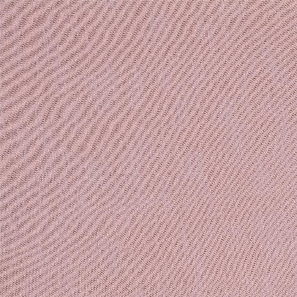 Rayon Spandex Slub Jersey Knit Antique Rose