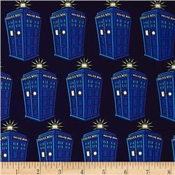 BBC Doctor Who Comics Police Public Call Box Blue