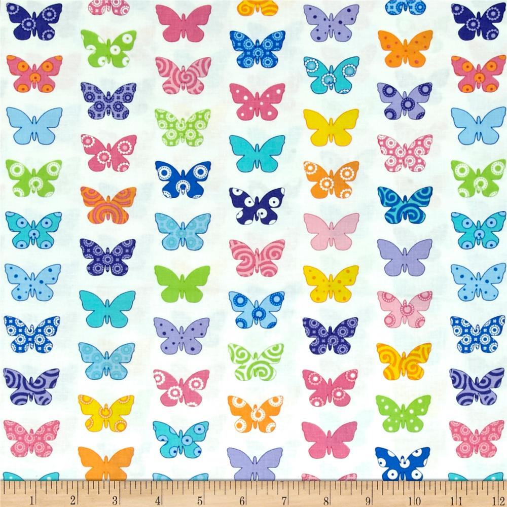 Moda Brighten Up! Flutter Up White