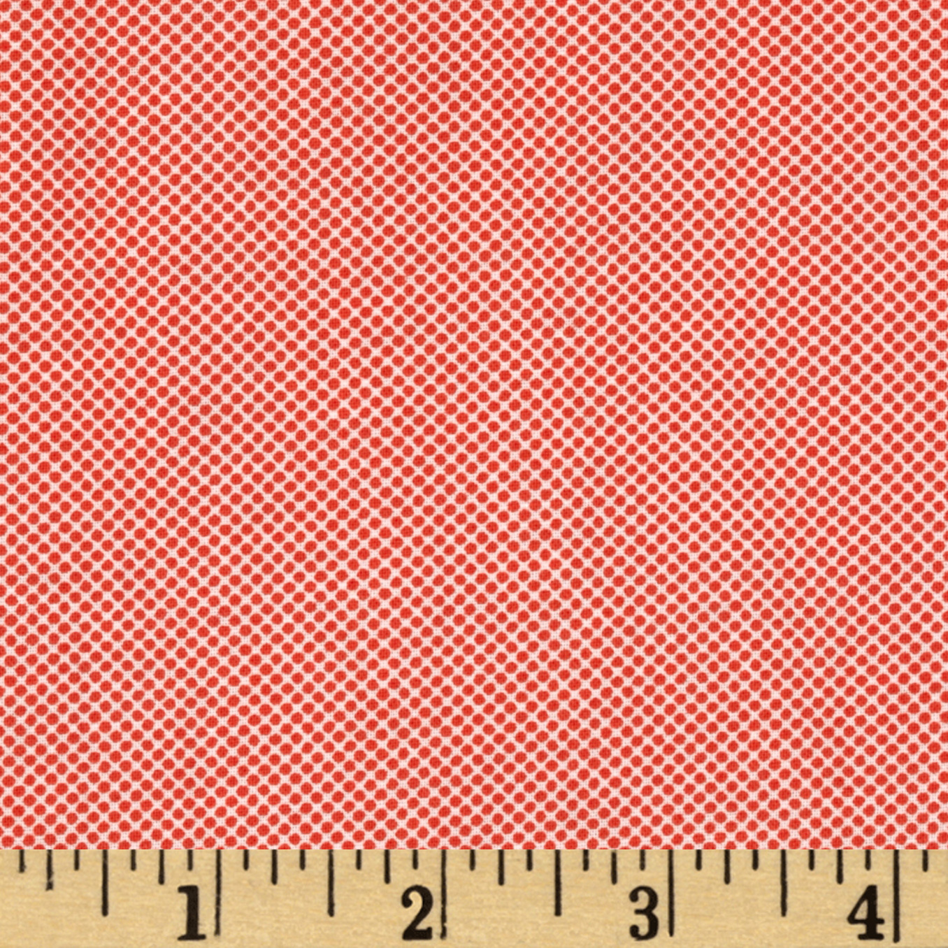 Quilt Girl Dots Red