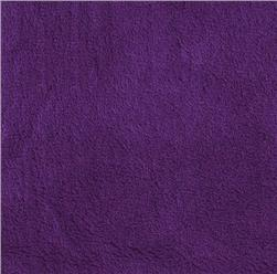 Double-Sided Minky Fleece Purple