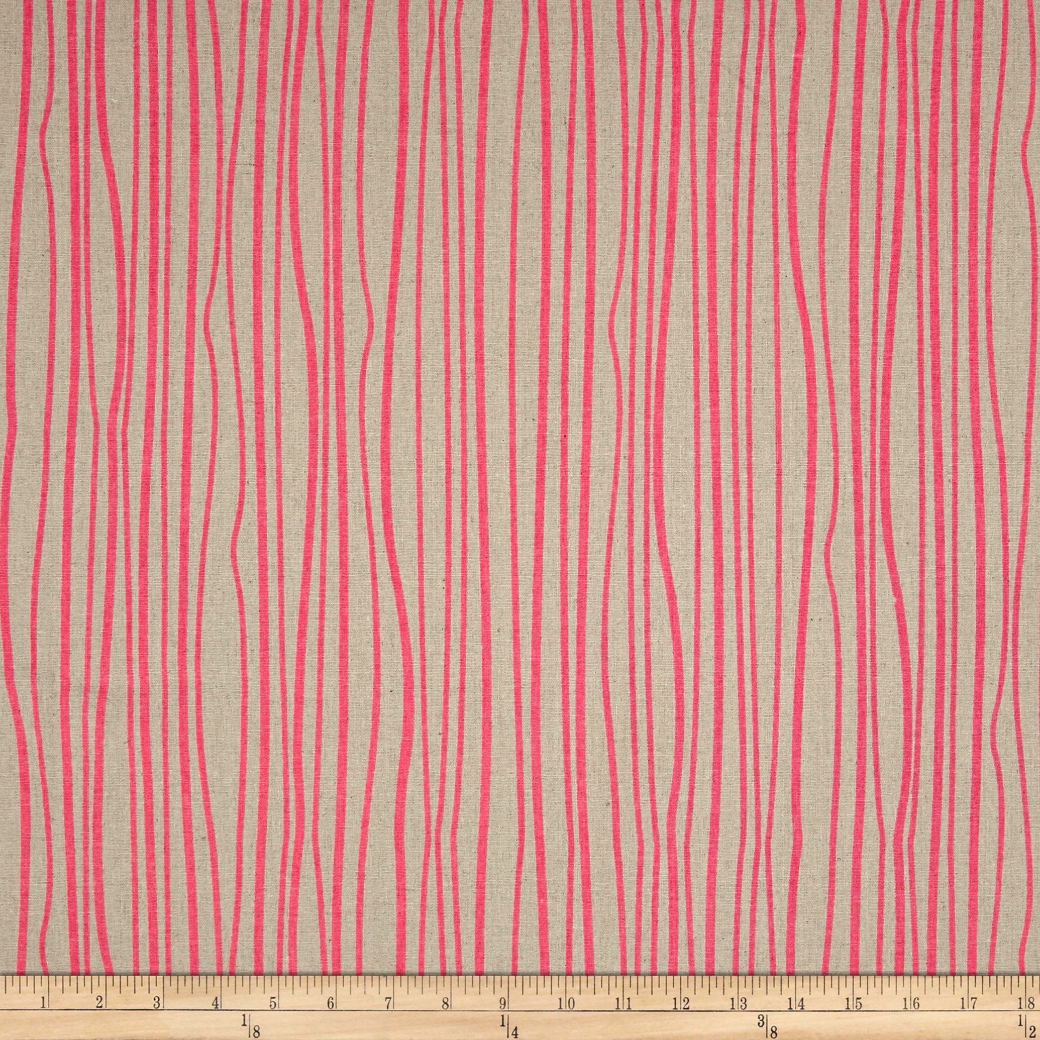 Image of Alison Glass Diving Board Seagrass Peony on Tailored Cloth Fabric