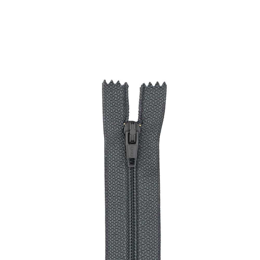 "Trouser Zipper 11"" Slate"
