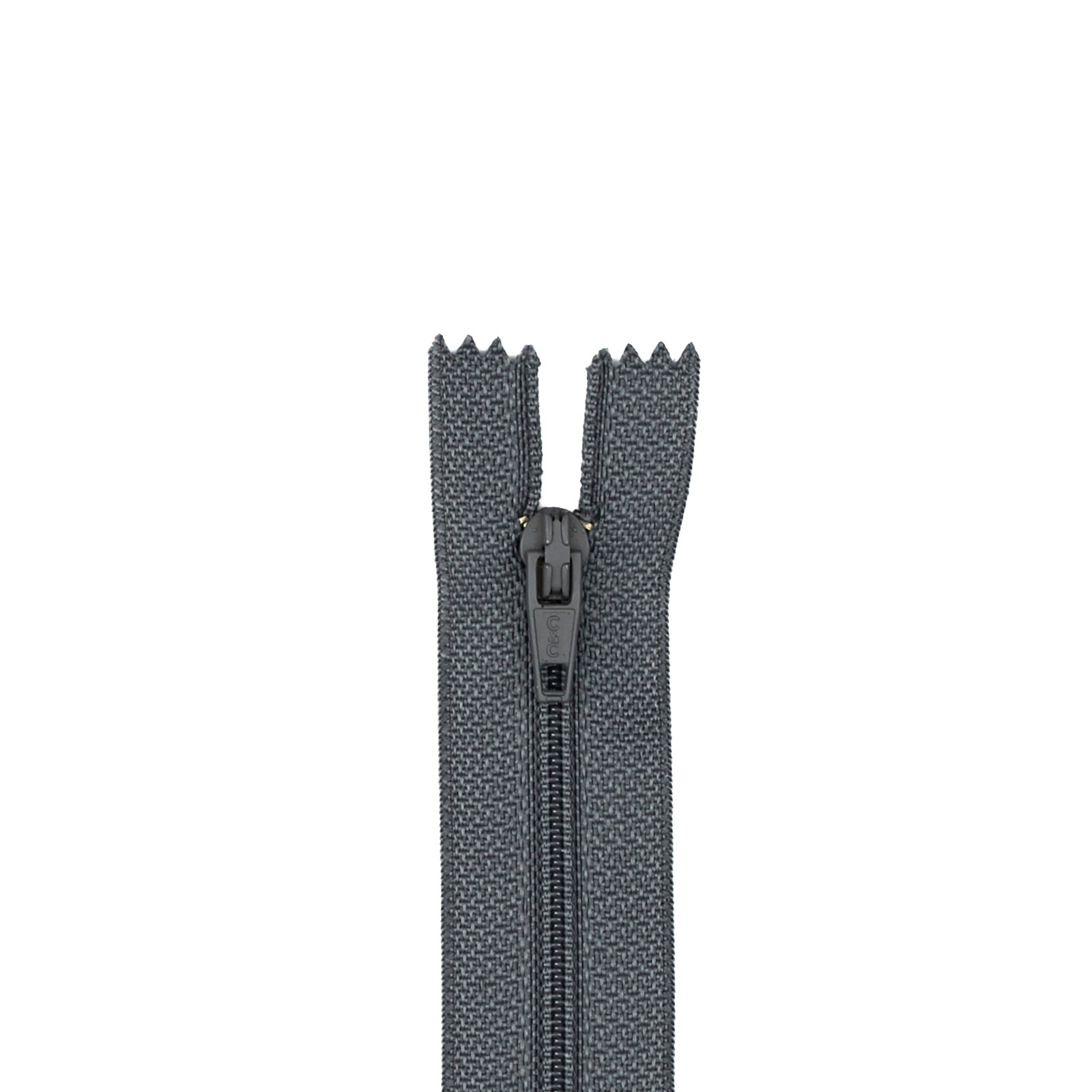 Trouser Zipper 11'' Slate
