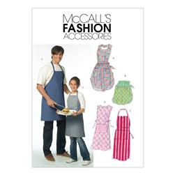 McCall's Misses'/ Men's/ Children's/ Boys'/ Girls' Aprons Pattern