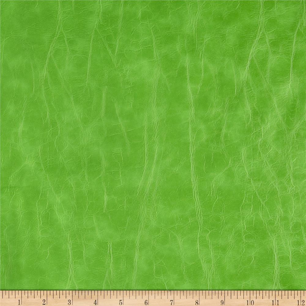 Richloom Faux Leather San Francisco Lime