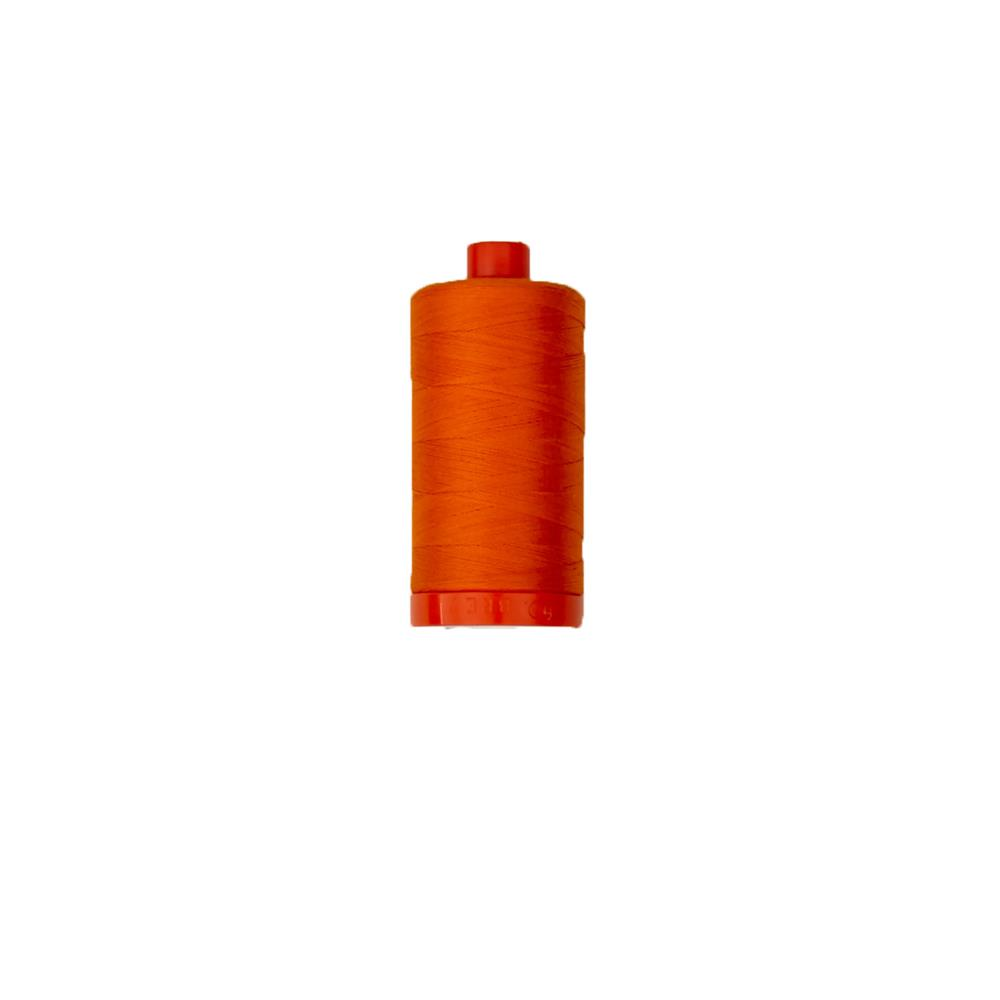 Aurifil Quilting Thread 50wt Bright Orange