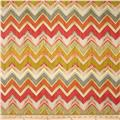 Swavelle/Mill Creek Indoor/Outdoor Culloden Chevron Desert Stone