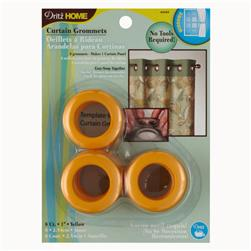 Curtain Grommets 1'' Yellow