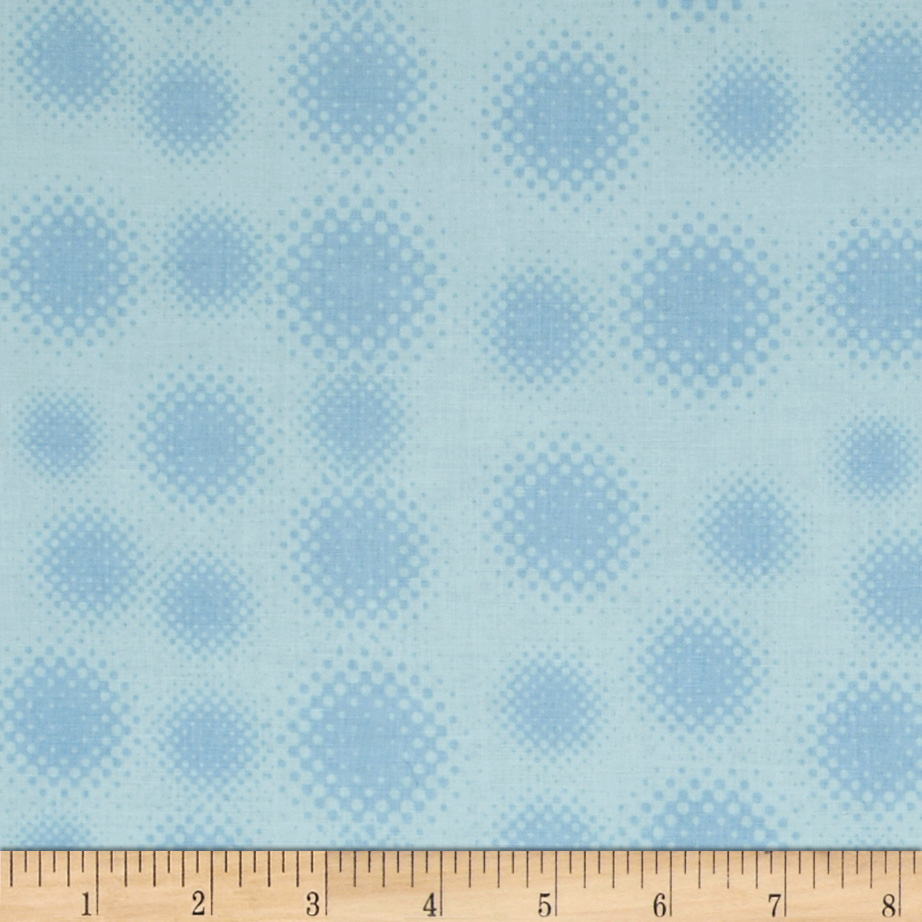 Riley Blake Super Hero Dots Blue Fabric