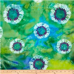 Indian Batik St Ashbury Tie Dye Lime