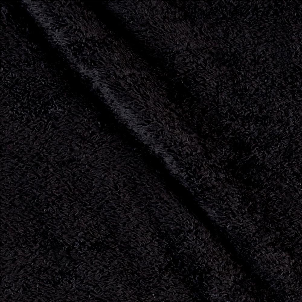 Cuddle Fleece Black