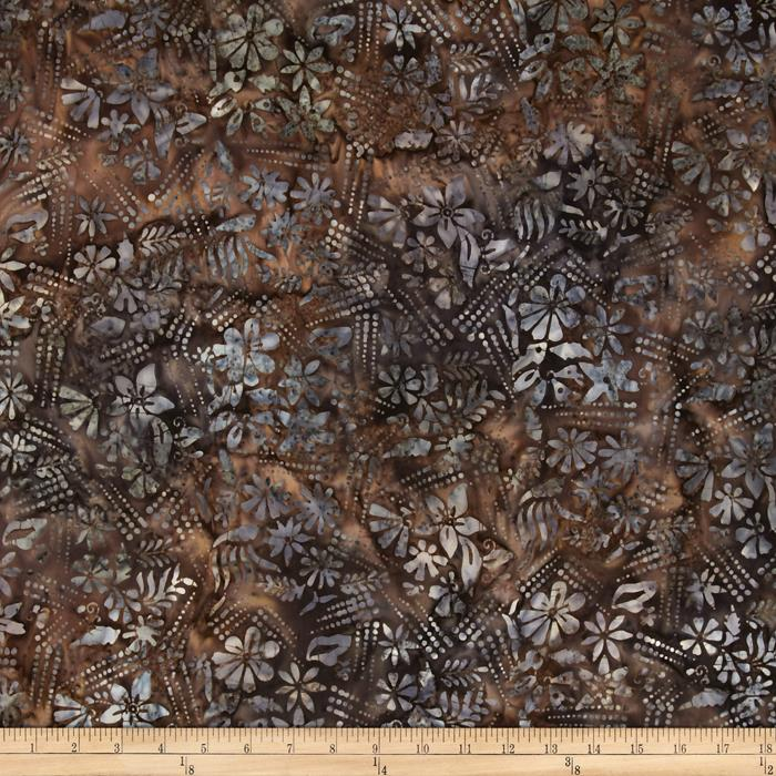 Timeless Treasures Tonga Batik Flower Tracks Blush