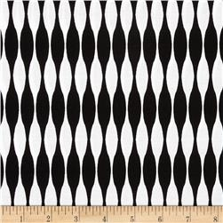 Riley Blake Mod Studio Stripe Black Fabric