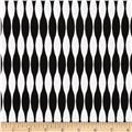 Riley Blake Mod Studio Stripe Black