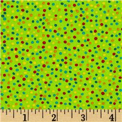 Mini Dots Lime