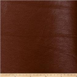 Fabricut Bronze Faux Leather Nutmeg