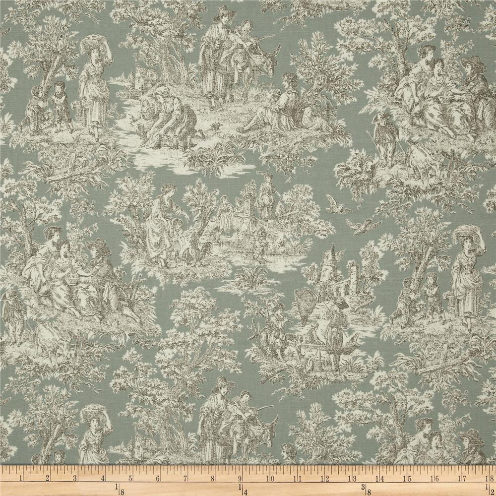 Decorating Ideas Toile Fabric: Waverly Rustic Life Toile Bliss