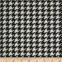 Chiffon Houndstooth Black/White