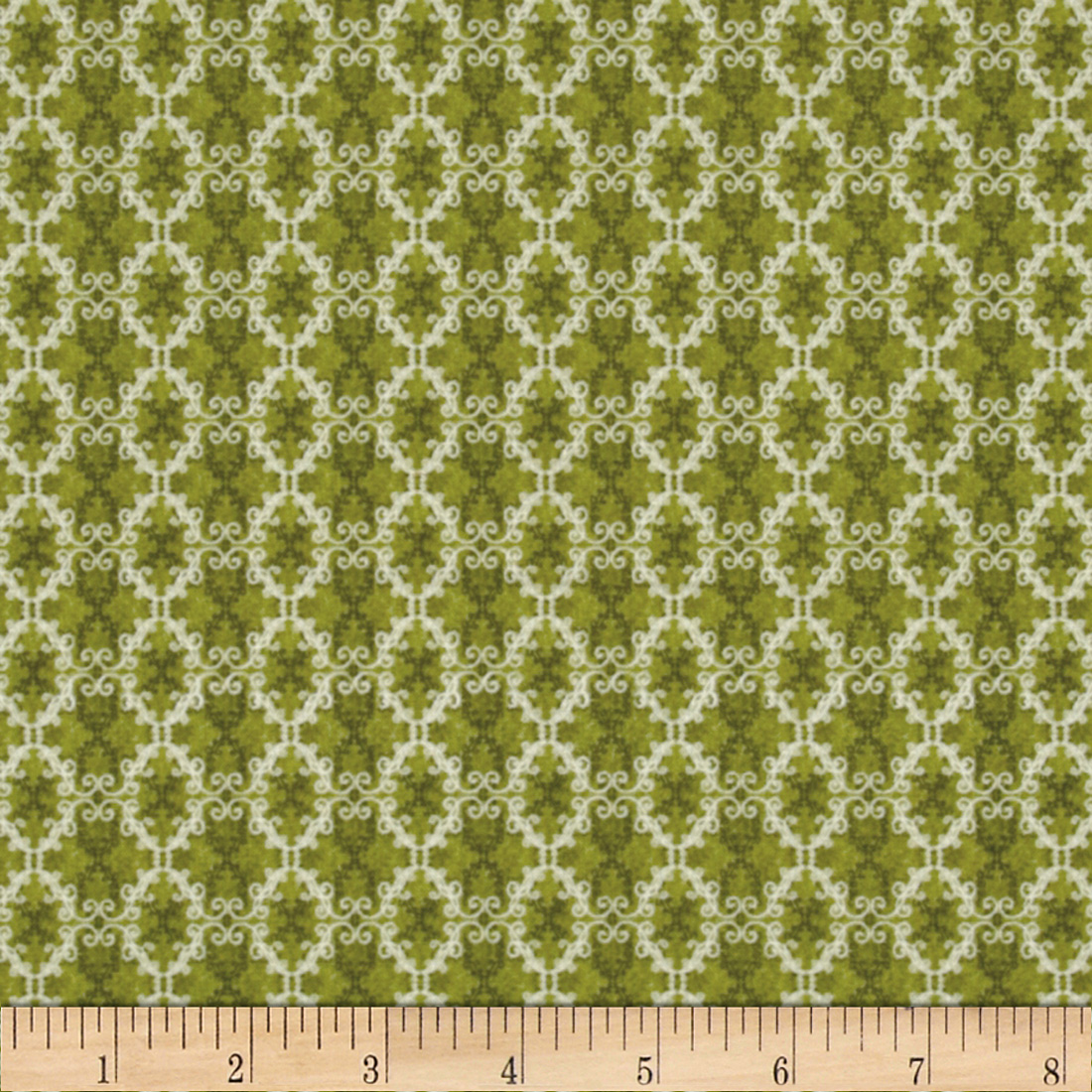A New Leaf Small Damask Leaf Fabric