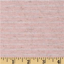 Jersey Knit Pin Stripe Pink