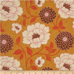 Joel Dewberry Bungalow Dahlia Maize Fabric
