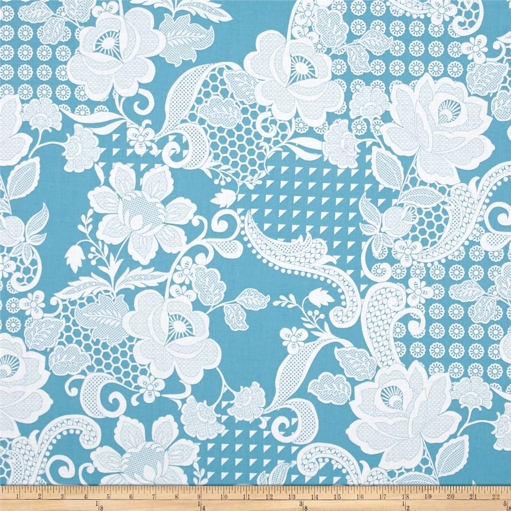 Hoffman Simply Eclectic Chantilly French Blue