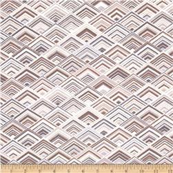 Robert Kaufman Vantage Point Diamond Plaid Earth