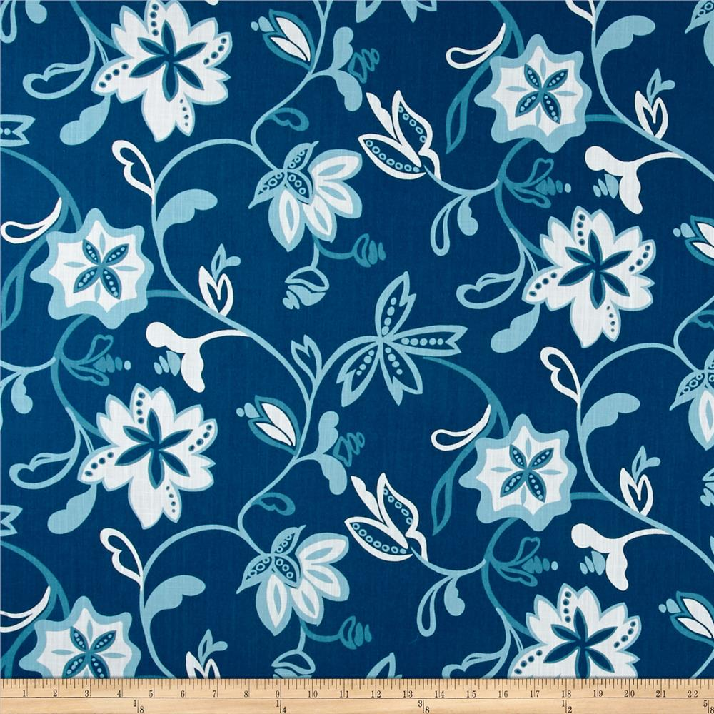 Ansley Home Decor Floral Blue White Discount Designer