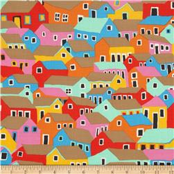 Kaffe Fassett Spring 2014 Collective Marble Shanty Town Bright
