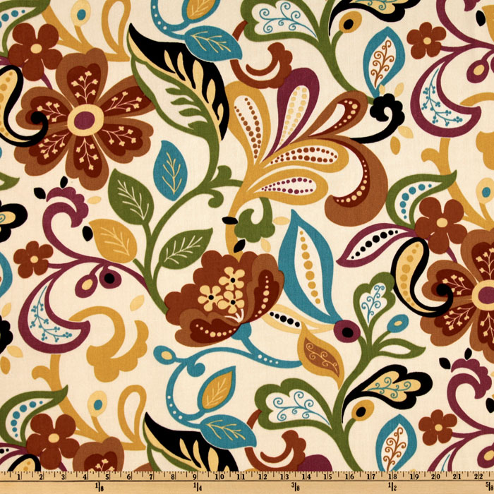Richloom Indoor/Outdoor Wildwood Jubilee Home Decor Fabric