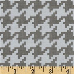 Michael Miller Everyday Houndstooth Stone Fabric