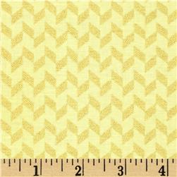 Clarabelle Metallic Zig Zag Watercress/Gold