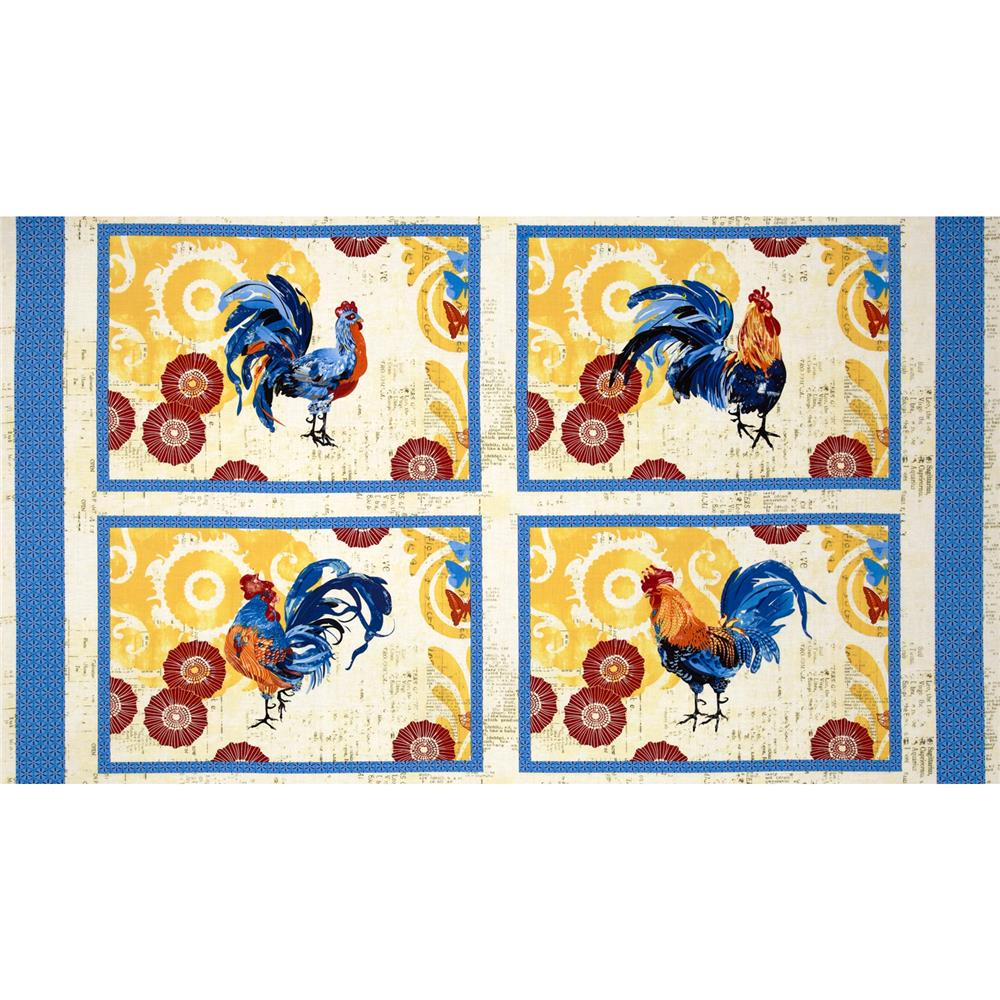 Bright and Early Placemat Panel Multi