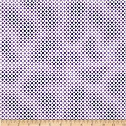 Ombre Dot Purple Fabric