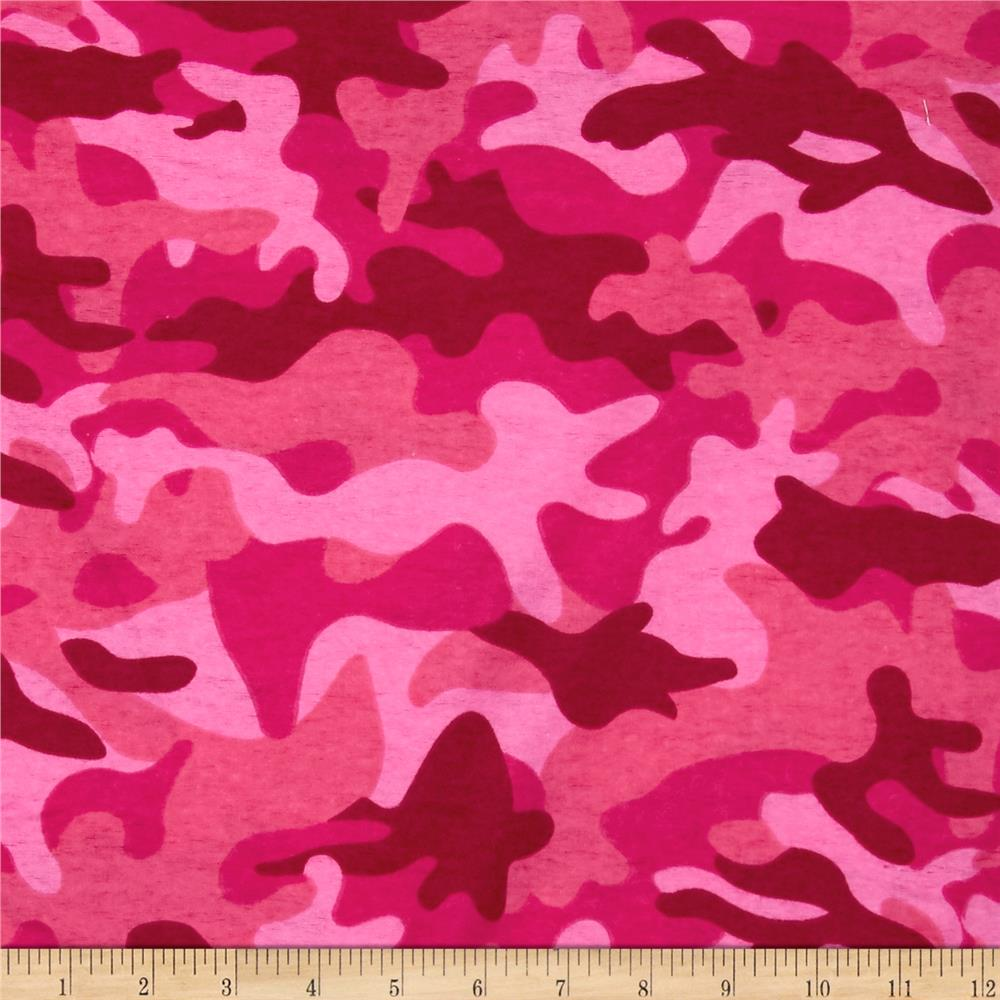 Flannel Camo Pink