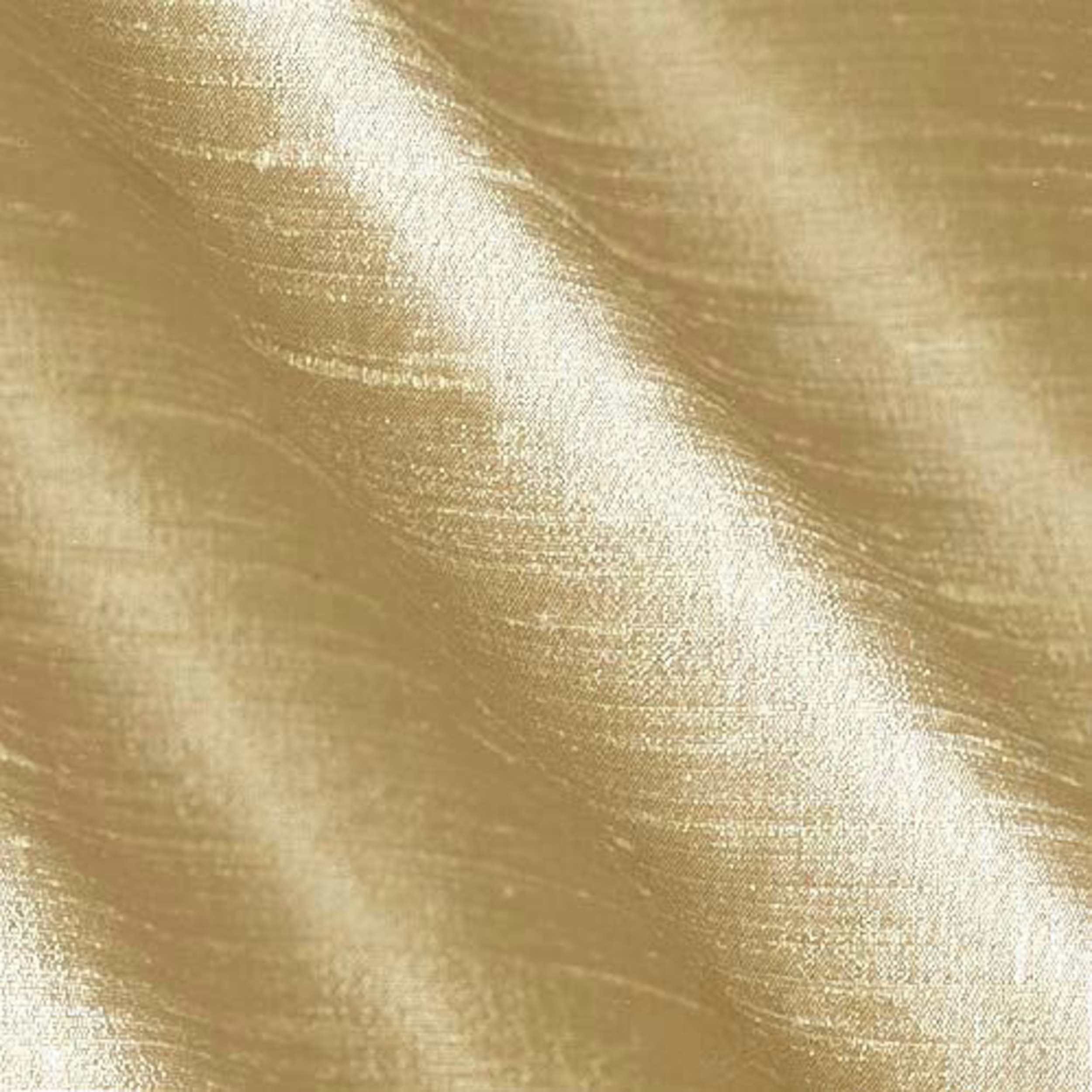 Image of Dupioni Silk Fabric Gold