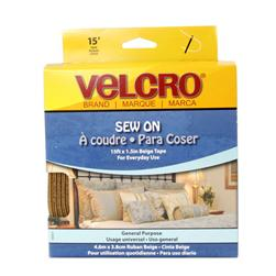 Velcro ® Brand Tape Beige 1-1/2'' By The Yard